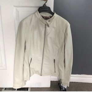 NWT vegan leather jacket